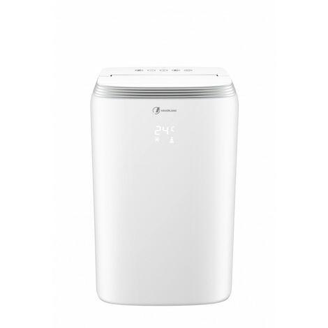Haverland TAC-0919 9000BTU Climatiseur Mobile 3 en 1 | Ventilateur | Déshumidificateur | telecommande | 2.6kW | Classe A