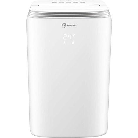 Haverland TAC-1219 11000BTU Climatiseur Mobile 3 en1 |21-26m² |Ventilateur | Déshumidificateur | telecommande | 3.2kW | Classe A