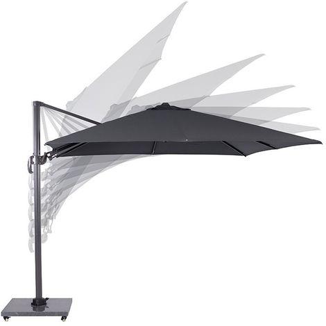 Hawaii parasol 300x300 carbon black/ dark grey