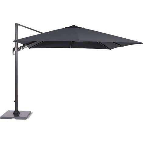 Hawaii parasol 350cm carbon black/ dark grey