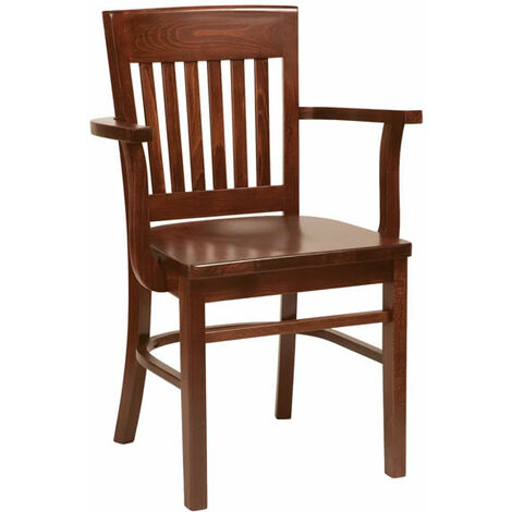 Hayson Dark Wood Chair