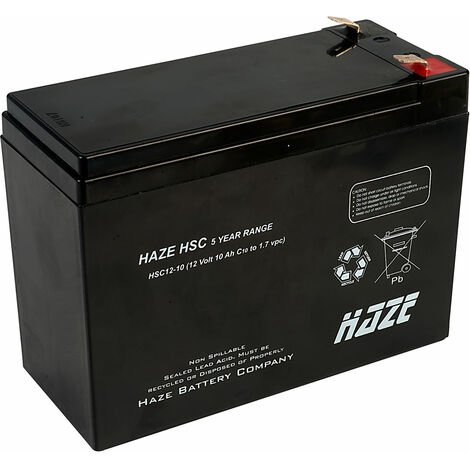 Haze 12V 10AH SLA Battery HSC12-10
