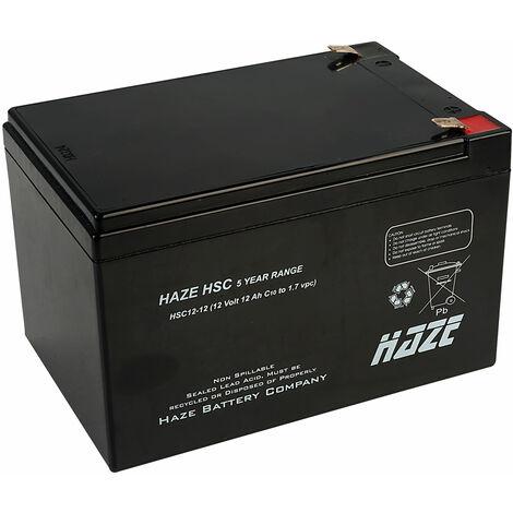 Haze 12V 12AH SLA Battery HSC12-12