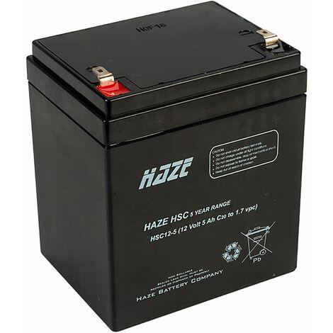Haze 12V 5Ah SLA Battery HSC12-5