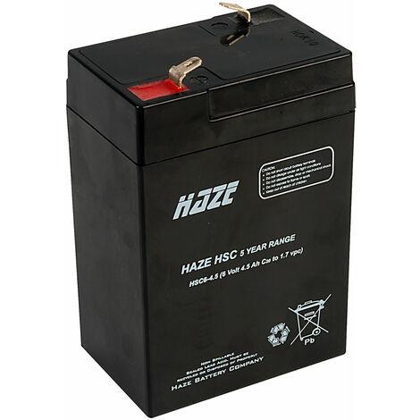 "main image of ""Haze HSC06-4.5 6V 4.5AH SLA Battery"""