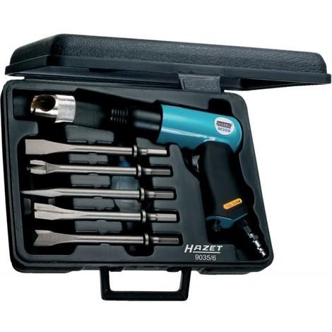 Hazet 9035/6 Jeu de marteaux burineurs/nombre d'outils 6