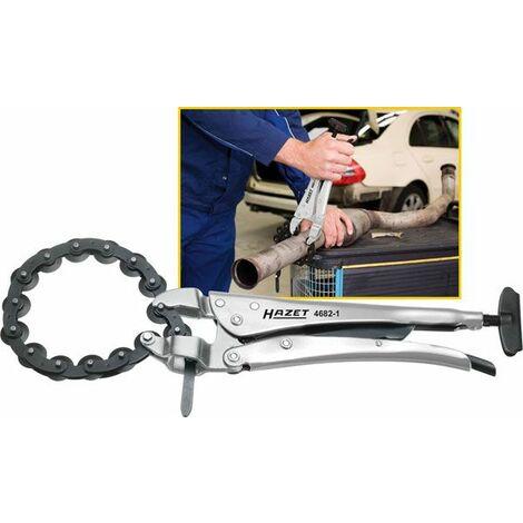 Hazet Coupe-tubes à chaîne - Longueur totale: 315 mm - 4682-1