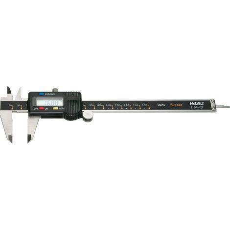 HAZET Digitaler Messschieber 2154N-20 bis 150mm Schieblehre