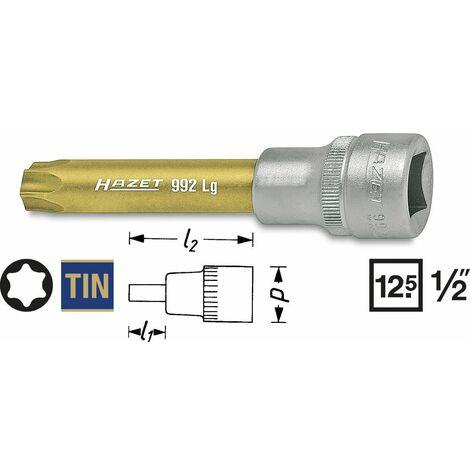 Hazet Douille t30 Torx 1//2 pouces 12,5 mm 40 mm 995s-t30