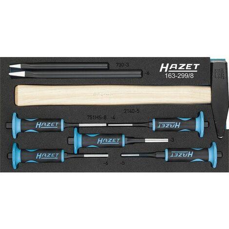 Hazet Jeu de chasse-goupilles - Nombre d'outils: 8 - 163-299/8
