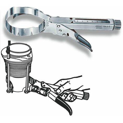 Hazet Pince de serrage pour segment de piston - Longueur totale: 332 mm - 794U-3