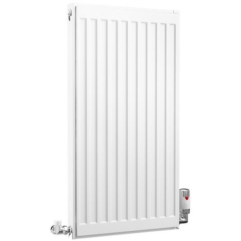 HB Essentials Compact Type 11 Single Panel Single Convector Radiator 300mm x 400mm White
