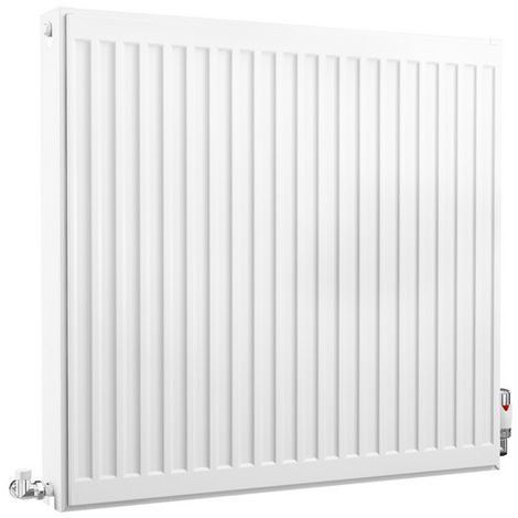 HB Essentials Compact Type 22 Double Panel Double Convector Radiator 750mm x 800mm White