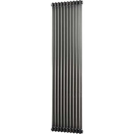 HB Signature Alpha Traditional Raw Metal Vertical Column Radiators 1800mm x 460mm 2 Column