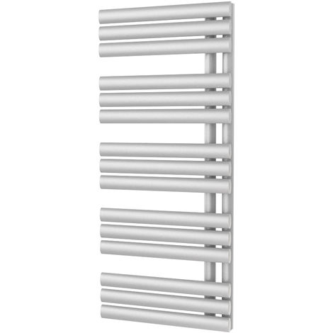 HB Signature Pyrros White Reversible Designer Heated Towel Rail 1120mm x 500mm Central Heating