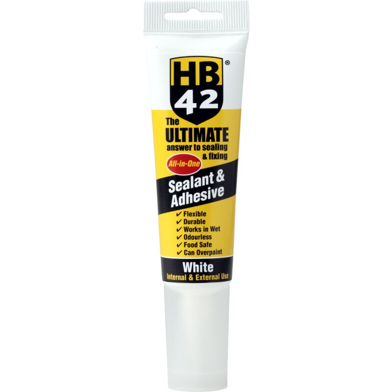 Image of Ultimate Universal Sealant & Adhesive 80ml - Invisible - Hb42