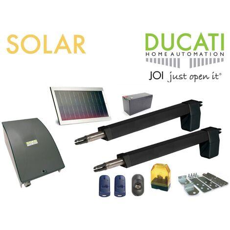HC812-300 SOLAIRE automatisme kit motorisation - DUCATI HOME-AUTOMATION - AUTOMATISME DE PORTAIL - Longueur de course 300mm