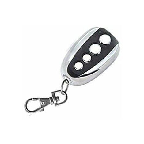 HD-Line nice-V2 Télécommande pour Porte de Garage 433 Mhz Argent