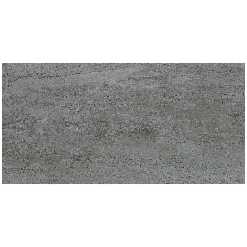 Image of BCT High Definition Parallel Dark Grey 30cm x 60cm Ceramic Wall Tile - BCT15987