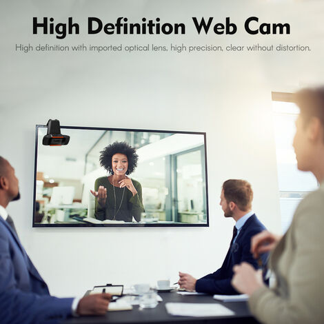 HD Webcam USB Drive-free Web Cam Online Studying Meeting Calling Video Camera Built-in Mic