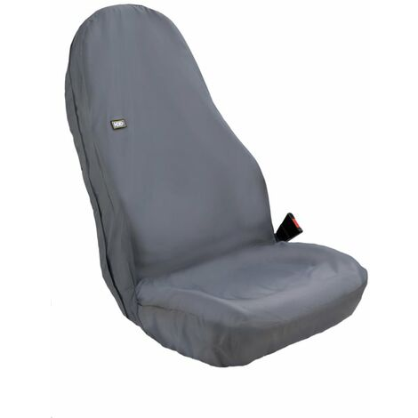 HDD Tractor Seat Cover Hi-back Black - 80 X 50CM