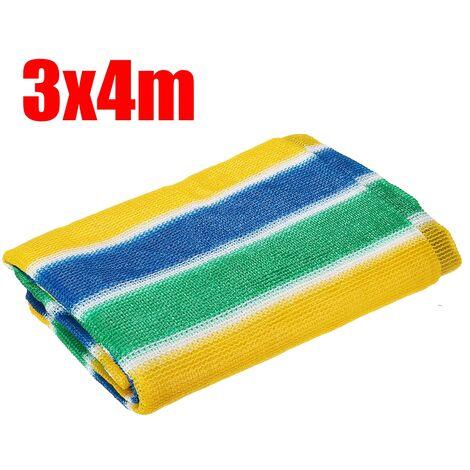 HDPE Anti-UV Sunshade Net Outdoor Garden Car Sunscreen Sunblock Shade Clothing Net 3x4m