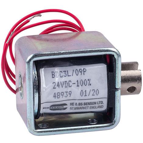 HE & BS BENSON BDC3/09/24/C/P BDC3L/24VDC/100%/6.5W PULL SOLENOID