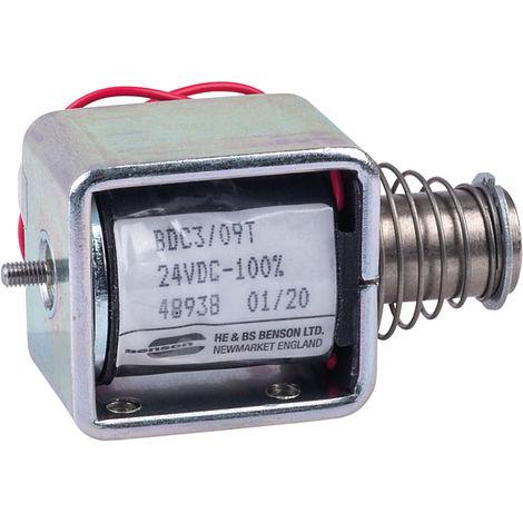 HE & BS BENSON BDC3/09/24/C/T BDC3/24VDC/100%/6.5W THRUST SOLENOID