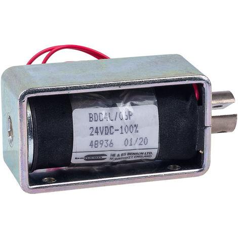 HE & BS BENSON BDC4/06/24/C/P BDC4L/24VDC/100%/11W PULL SOLENOID