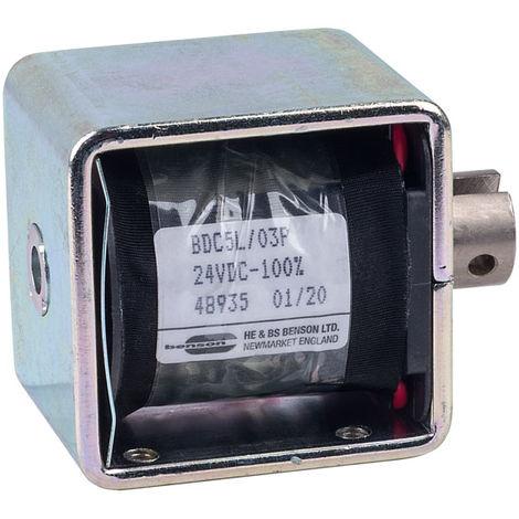 HE & BS BENSON BDC5/03/24/C/P BDC5L/24VDC/100%/15W PULL SOLENOID