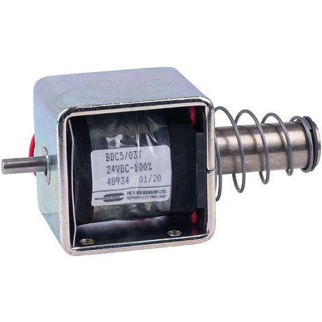 HE & BS BENSON BDC5/03/24/C/T BDC5/24VDC/100%/15W THRUST SOLENOID