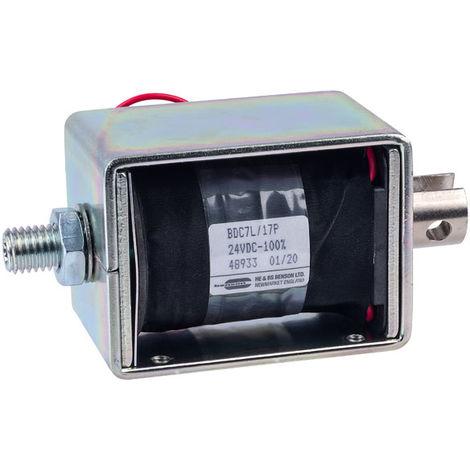 HE & BS BENSON BDC7L/17/24/C/P BDC7L/24VDC/100%/20W PULL SOLENOID