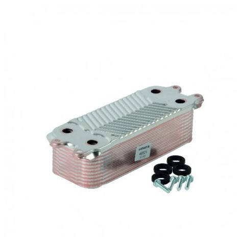Heat exchanger dhw (19 plates) - DIFF for Vaillant : 0020038572