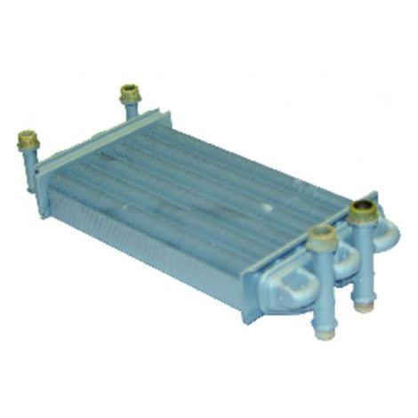 Heat exchanger Victoria/Laura 20kW - DIFF for Baxi-Roca : 122030160