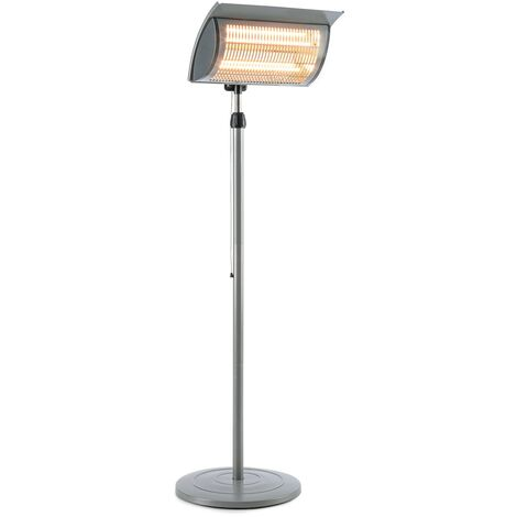 Heat Guard Focus radiateur de terrasse IR ComfortHeat 1000/2000W gris