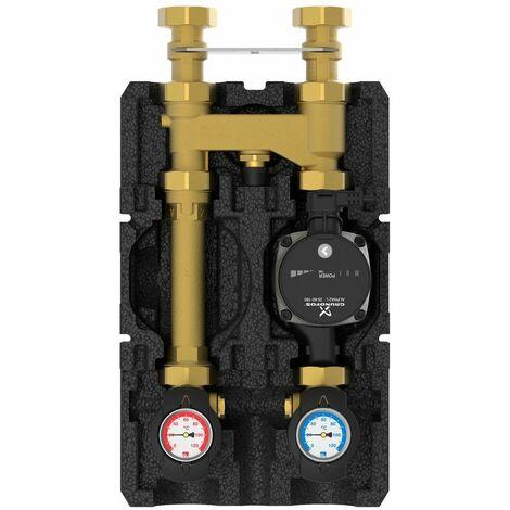 HeatBloc K36E DN25 Grundfos UPM 3 Auto L 25-70