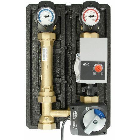 HeatBloCEco,DN25,circuit chauffe mélangé Wilo Yonos Para RS25/6