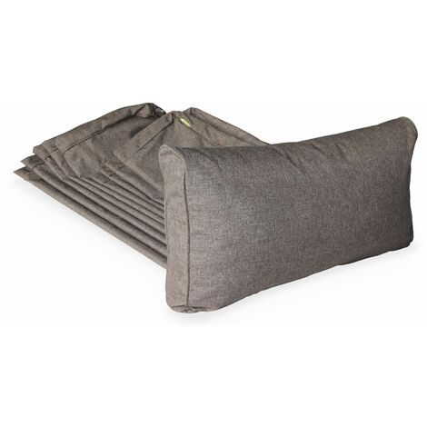 Heather grey cushion cover set for Milano