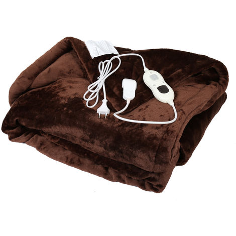 Heating Blanket 180x130cm 120W with Timer and Automatic Cut-Out with 3 Programmes