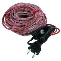 Heating flex for pipe - Flex 24m 220V with plug + thermostat