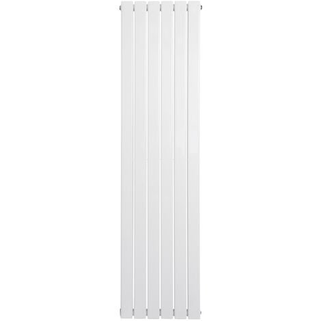 Heating Radiator Panel 1600*408mm Double Vertical Designer Central Flat
