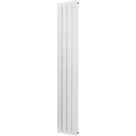 Heating Radiator Panel 1600x272mm White Double Vertical Designer Central Flat