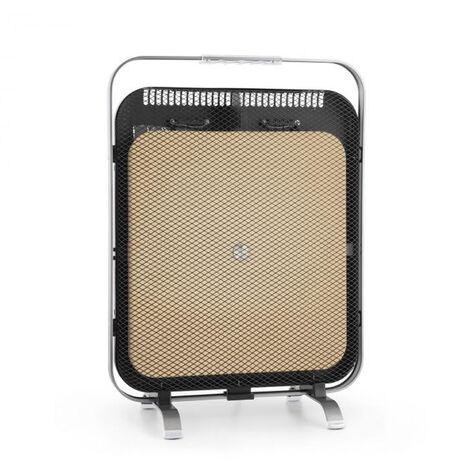 "main image of ""HeatPal Marble Blackline Infrared Heater 1300W Marble Aluminium"""