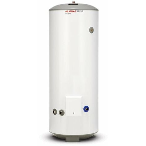 Heatrae Sadia HE 150L Direct Vented Stainless Steel Hot Water Cylinder 150 Litre