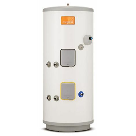 Heatrae Sadia Megaflo Eco Indirect Unvented Hot Water Twin Coil Cylinder 190L