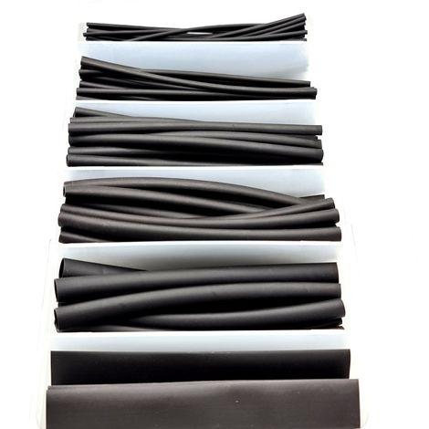 Heatshrink Assortments 170pcs Cable Sleeve Kit 2:1 Shrink Ratio