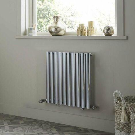 Heatwave Dorney Single Horizontal Radiator 600mm H x 592mm W - White