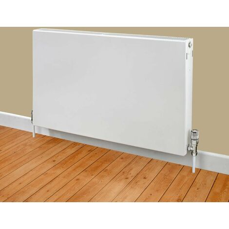 Heatwave Flat Panel Horizontal Type 11 Radiator 600mm H x 400mm W - White
