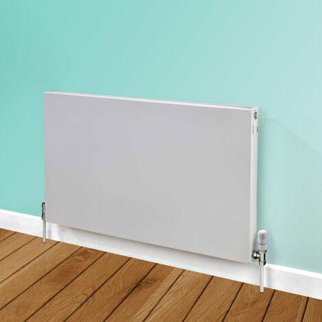Heatwave Flat Panel Horizontal Type 22 Radiator 600mm H x 700mm W - White
