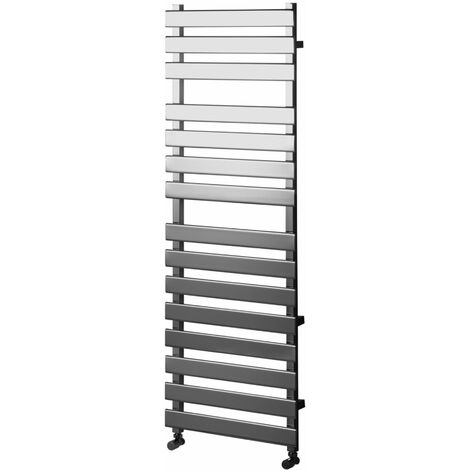 Heatwave Perlo Flat Panel Heated Towel Rail 1500mm H x 500mm W - Chrome
